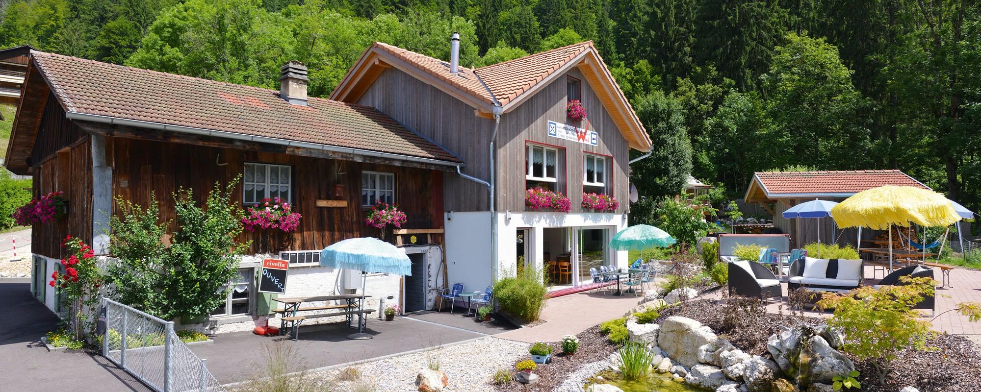 Maison Biaufond - Gîte et table d'hôtes
