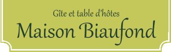 Maison Biaufond – Gîte et tables d'hôtes – Bassins du Doubs, Suisse